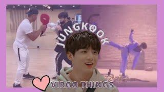 Jungkook being a virgo \/\/ BTS