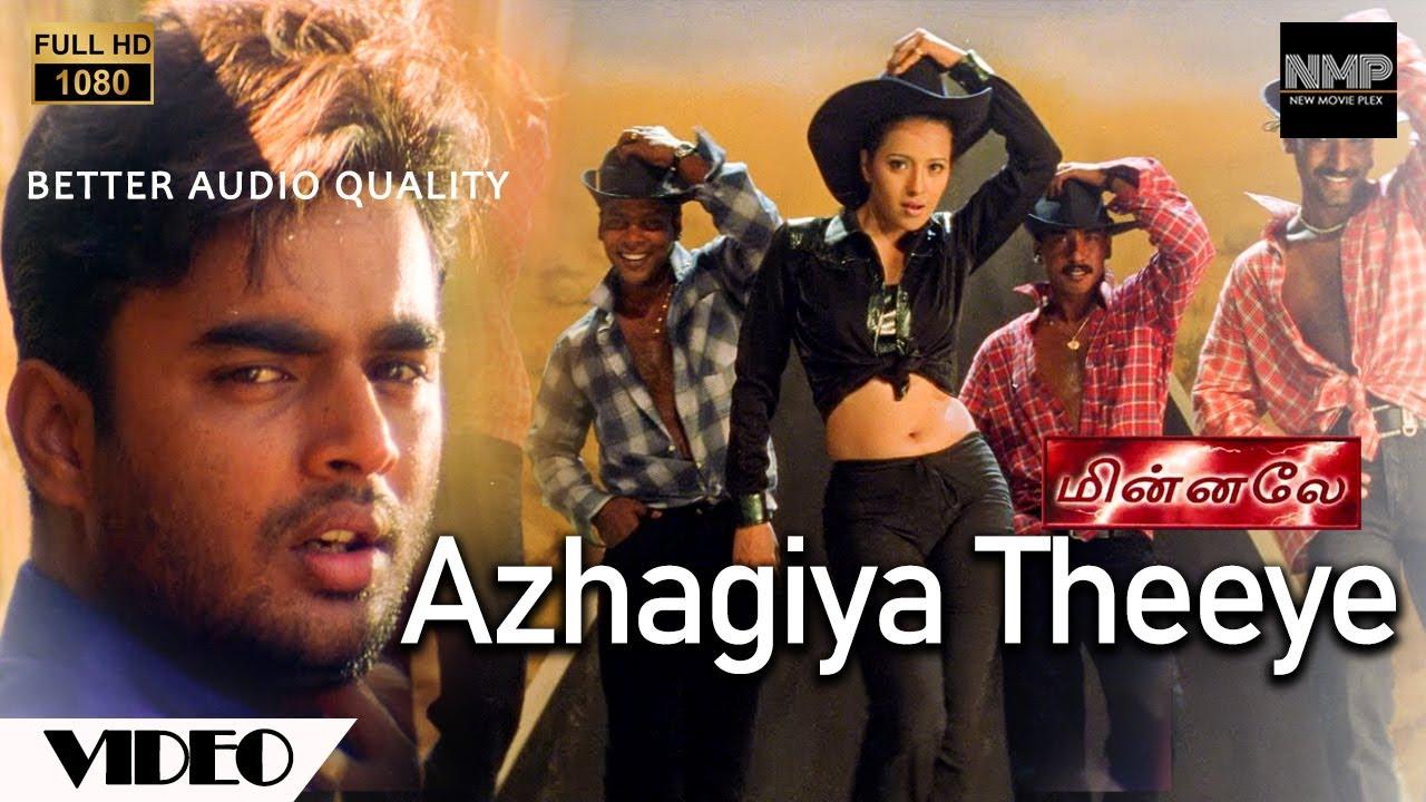 Azhagiya Theeye Official Video   Full HD   Minnale   Harris Jayaraj   Madhavan   Gautham V Menon