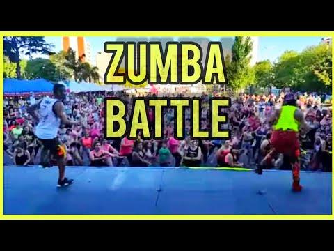 ZUMBA BATTLE BUENOS AIRES - MENGÃO - DJ BRUNO F
