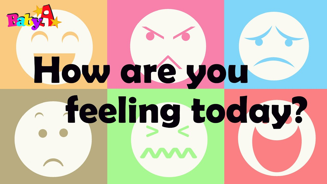 Feeling And Emotion Learning For Kids By Baby A Nursery