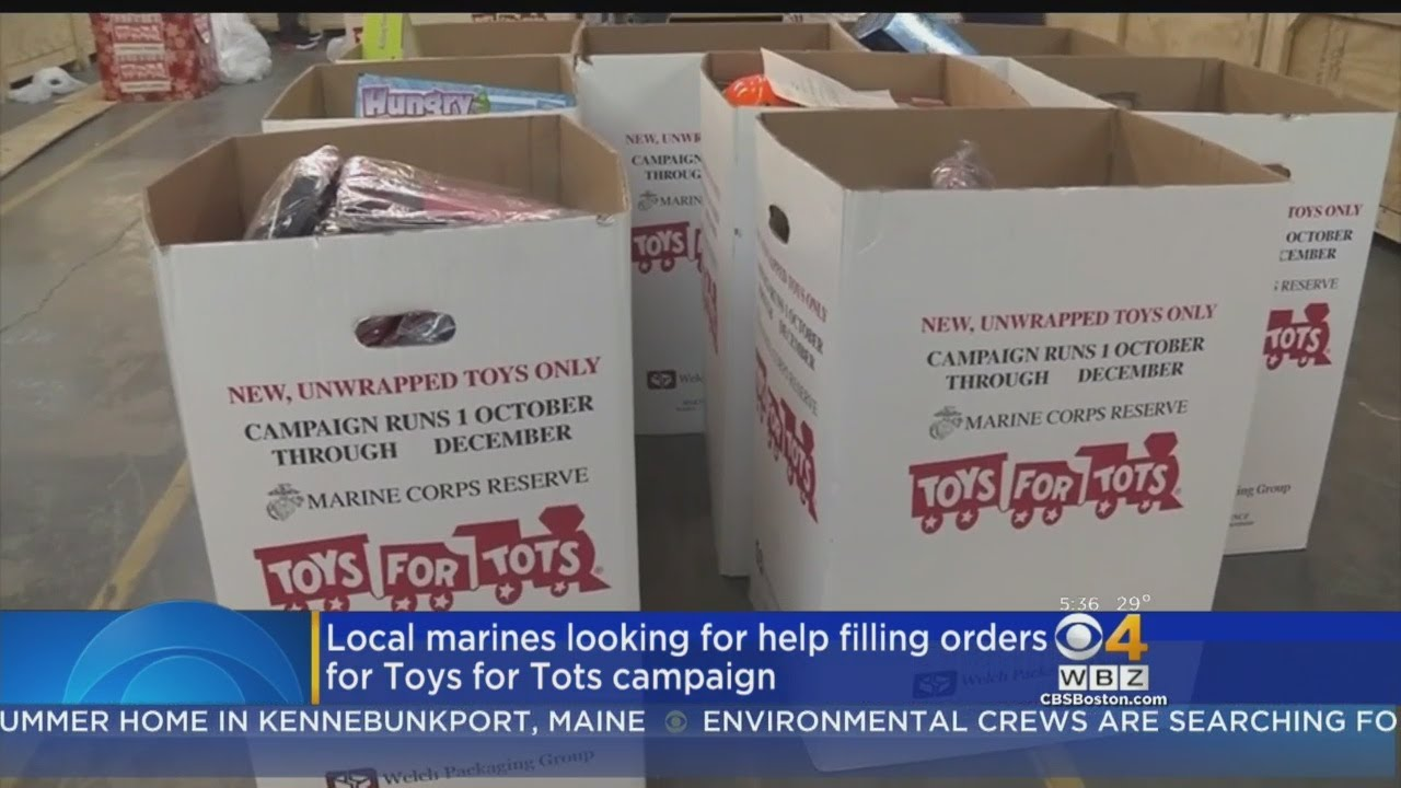 Western Mass Toys For Tots In Desperate Need Of