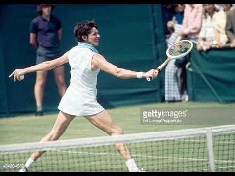Margaret Court vs Olga Morozova. 1/4 final. Wimbledon 1973