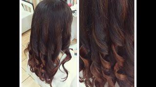 Модный цвет волос омбре на темные волосы(Мой 2 КАНАЛ О МАНИКЮРЕ ___ https://www.youtube.com/channel/UCDyrToyCf2Xatn6m9sgOyDg Подписывайтесь на канал, чтобы не пропустить новые..., 2015-08-27T19:34:56.000Z)