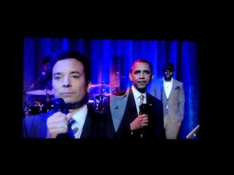 Obama slows jam the news with Jimmy Fallon.