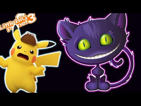 Detective Pikachu *Escape The Cat* LittleBigPlanet 3