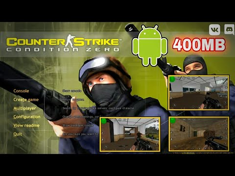 COUNTER STRIKE : CONDITION ZERO || OFFLINE ANDROID || CARA PASANG + GAMEPLAY