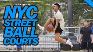 Best Basketball Courts In Nyc Ft. Dikembe Mutombo | Fung Bros
