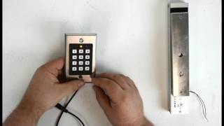How to Control a Magnetic Lock from a Keypad