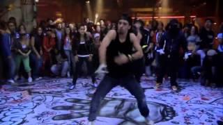 Удаленная сцена №1 'Шаг вперед 3D' - 'Битва в клубе'