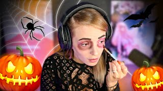 MAQUILLAGE « FACILE » POUR HALLOWEEN 🎃