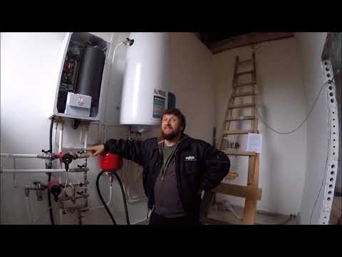 Как заполнить закрытую систему отопления антифризом
