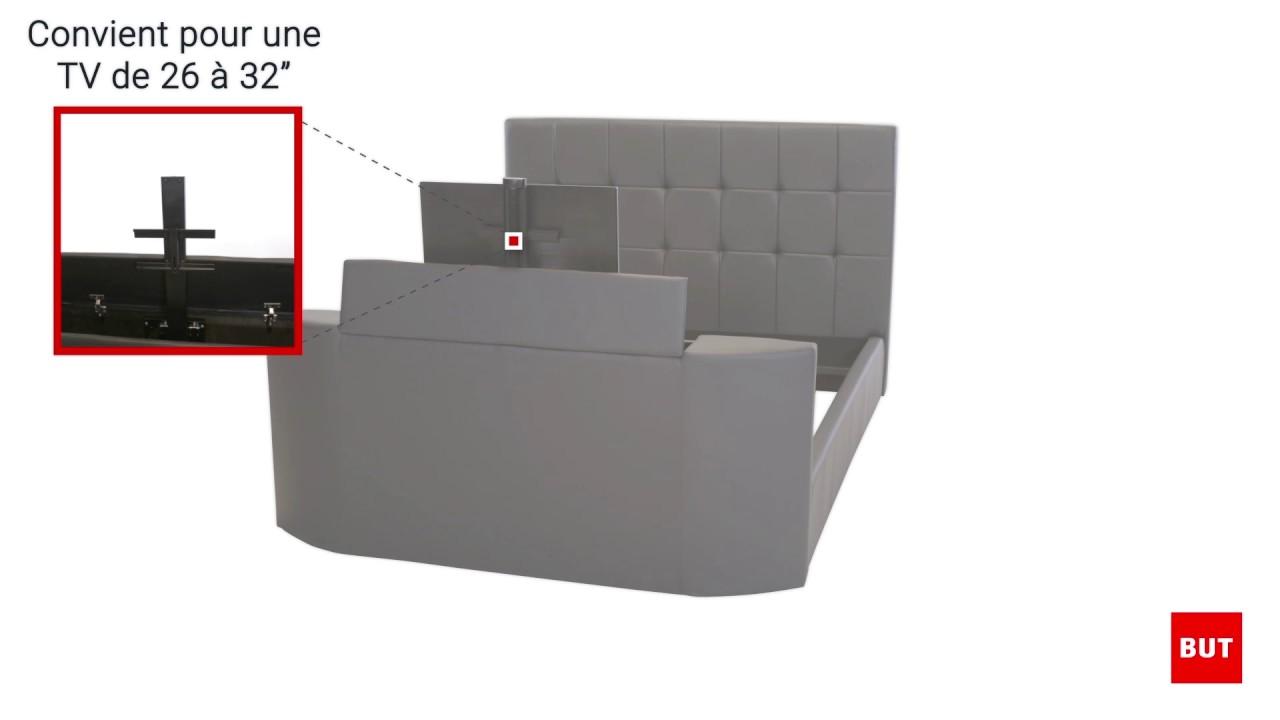 lit tv bed 160x200cm but