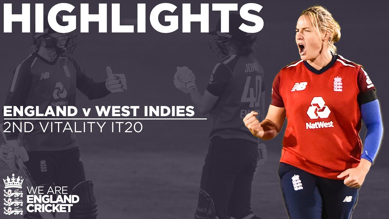England v West Indies - Highlights | England Bowlers Impress In 47 Run Win! | 2nd Vitality IT20 2020