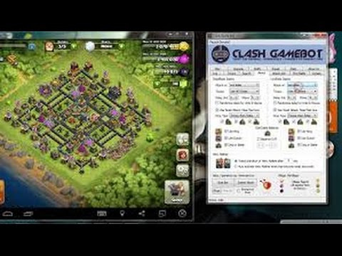 Autoplay  coc clash of clan (GAMEBOOT)