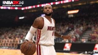 NBA 2K14 PS4 First Ever Next Gen Screenshot Featuring Lebron James + PS3 vs PS4