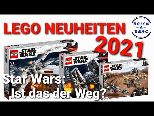 LEGO® STAR WARS 2021: Wo geht die Reise hin? [LEGO® Neuheiten 1. HJ 2021]