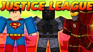 THE JUSTICE LEAGUE SAVES MAD CITY! (ROBLOX)
