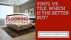 Vinyl vs Tile: Which is the better buy?