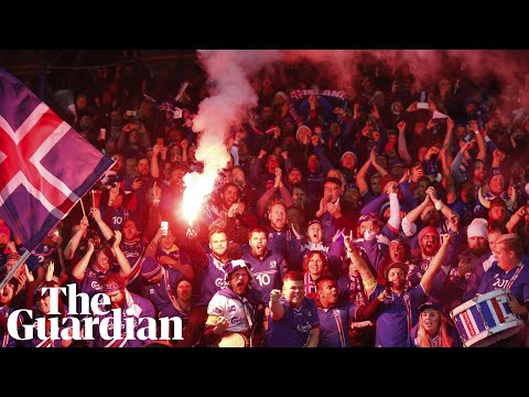 Celebrations as Iceland become smallest country to qualify for World Cup