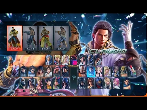 Tekken 1 to 7: COMPLETE Evolution of CHARACTER SELECT SCREENS (1994-2017)