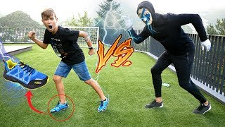 RETO CARRERA HACKER VS NICO *ZAPATILLAS HACKEADAS*