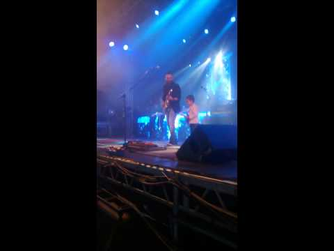 Show Jorge e Mateus Bragança  meu filho no palco