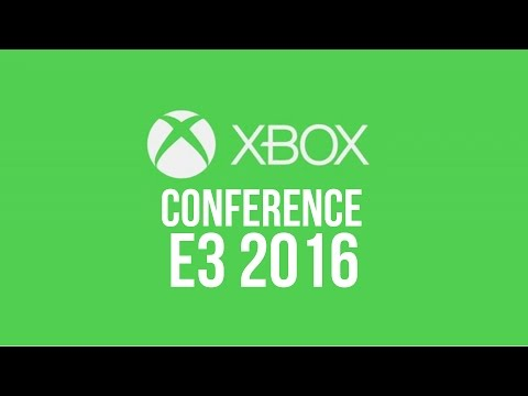 XBOX Microsoft E3 2016 Conference