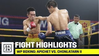 HIGHLIGHTS | WP Boxing: Apichet vs. Chonlatarn II