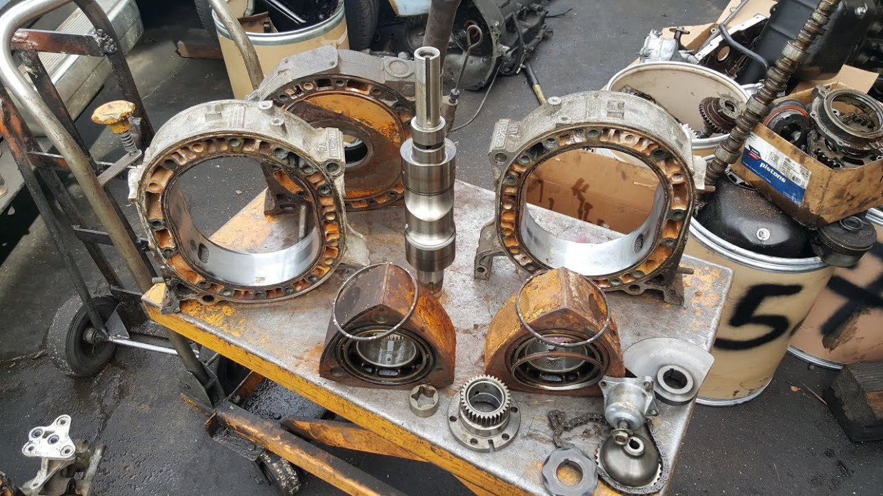 How To Rebuild Mazda Rx8 Rx7 12a Rotary Engine Video 1