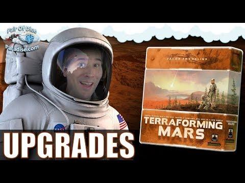 10 Upgrades for Terraforming Mars | The Component Proponent