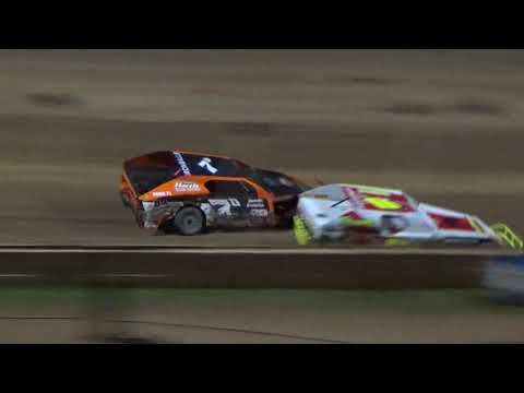 I.M.C.A. Feature Race at Crystal Motor Speedway on 06-23-2018.