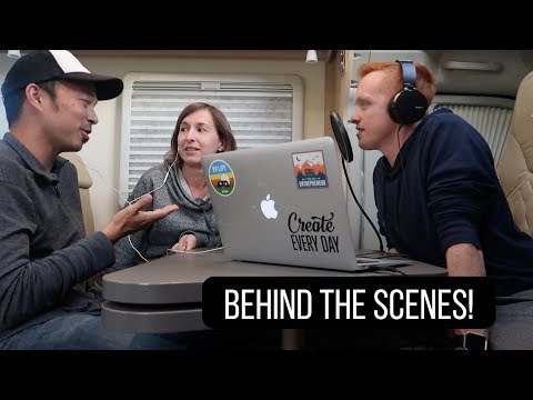 BEHIND THE SCENES: How I Record The RV Entrepreneur Podcast | NZ Ep. 15