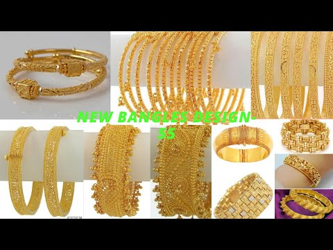 design-house-gold-bangles-latest-simple-daily-wear-&-bridal-designs-collections