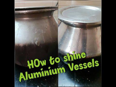 Easy way to clean Aluminium Vessels / അലുമിനിയം പാത്രങ്ങൾ വെട്ടിത്തിളങ്ങാൻ ഇങ്ങനെ ചെയ്തു നോക്കൂ