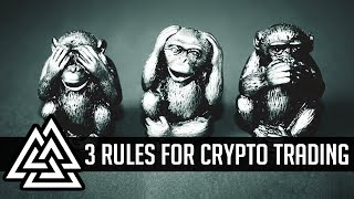 3 Rules To Trade Like A Pro In Crypto!