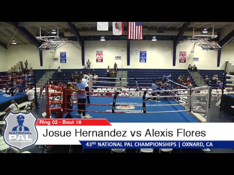 Oxnard PAL Boxing Ring 2 Live Stream - Day 1 (9/27/17)