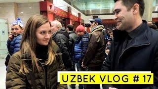 Uzbek vlog #17 - DIZAYN 2017 SANKT-PETERBURG AEROPORTIDA