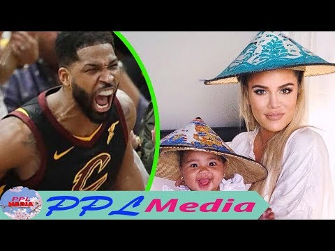 A member of the Kardashian family supported Tristan Thompson in charity work, who is?