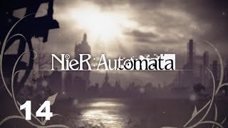 Nier Automata (PS4) Route A Part 13: Copied City