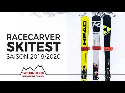 SKITEST: Racecarver 2019/20 | HEAD WCR I.Speed Pro - ROSSIGNOL Hero Master - FISCHER RC4 Worldcup RC