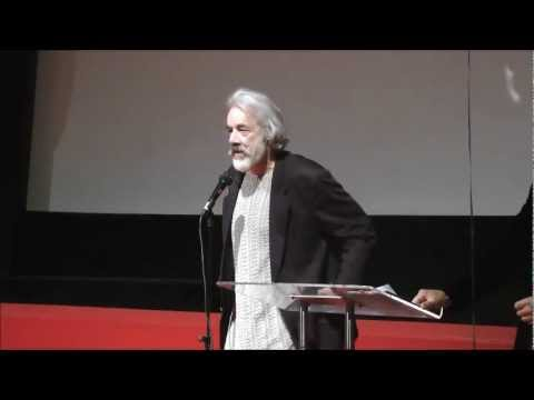 Actor Roger Lloyd-Pack talks about Erna Low at the 80th anniversary of Erna Low Ski Holidays