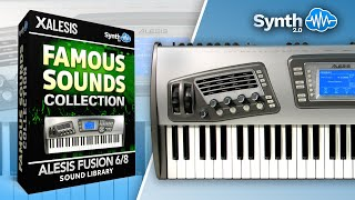 """ALESIS FUSION """"FAMOUS SOUNDS&MORE"""" SOUND PACKAGE DEMO VIDEO BY"""