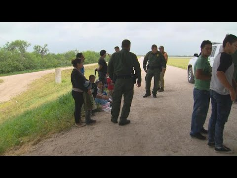 On the ground with Border Patrol agents detaining undocumented immigrants