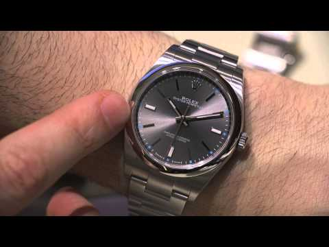 Rolex Oyster Perpetual Watches For 2015 Hands-On | aBlogtoWatch