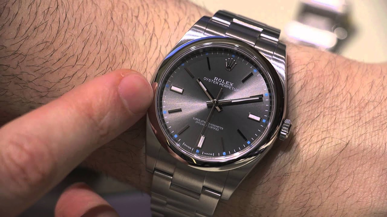 Rolex Oyster Perpetual Watches For 2015 Hands-On ...
