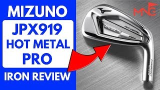 This Iron Is Going To Be A Hit! Mizuno JPX919 Hot Metal Pro Iron Review
