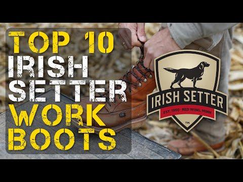 Top 10 Best Irish Setter Work Boots