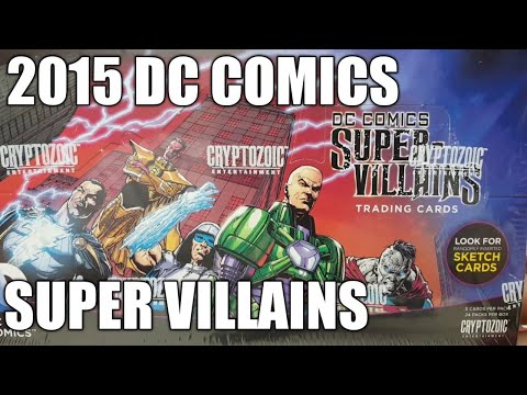 BoxBreak #20 💥 2015 Cryptozoic DC Comics Super-Villains