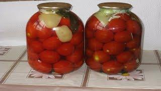 Сладкие маринованные помидоры. Домашний рецепт