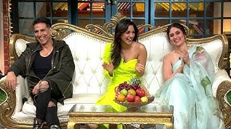 The Kapil Sharma Show - Good Newwz Part 1   🌟100th Episode Special🌟   Akshay, Kareena, Diljit, Kiara